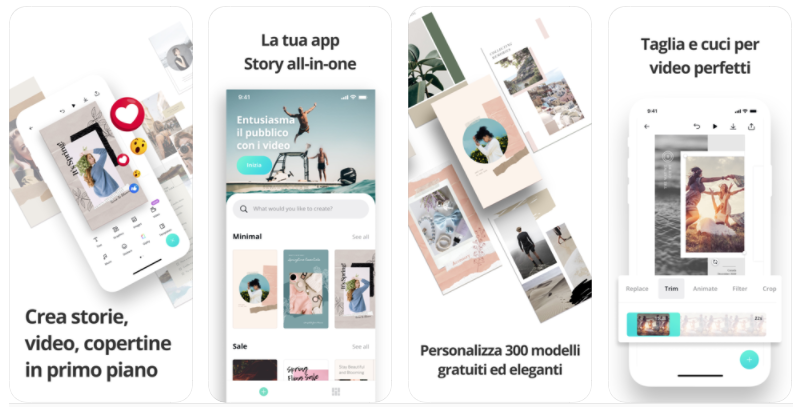 CANVA l'app per storie e video Instagram