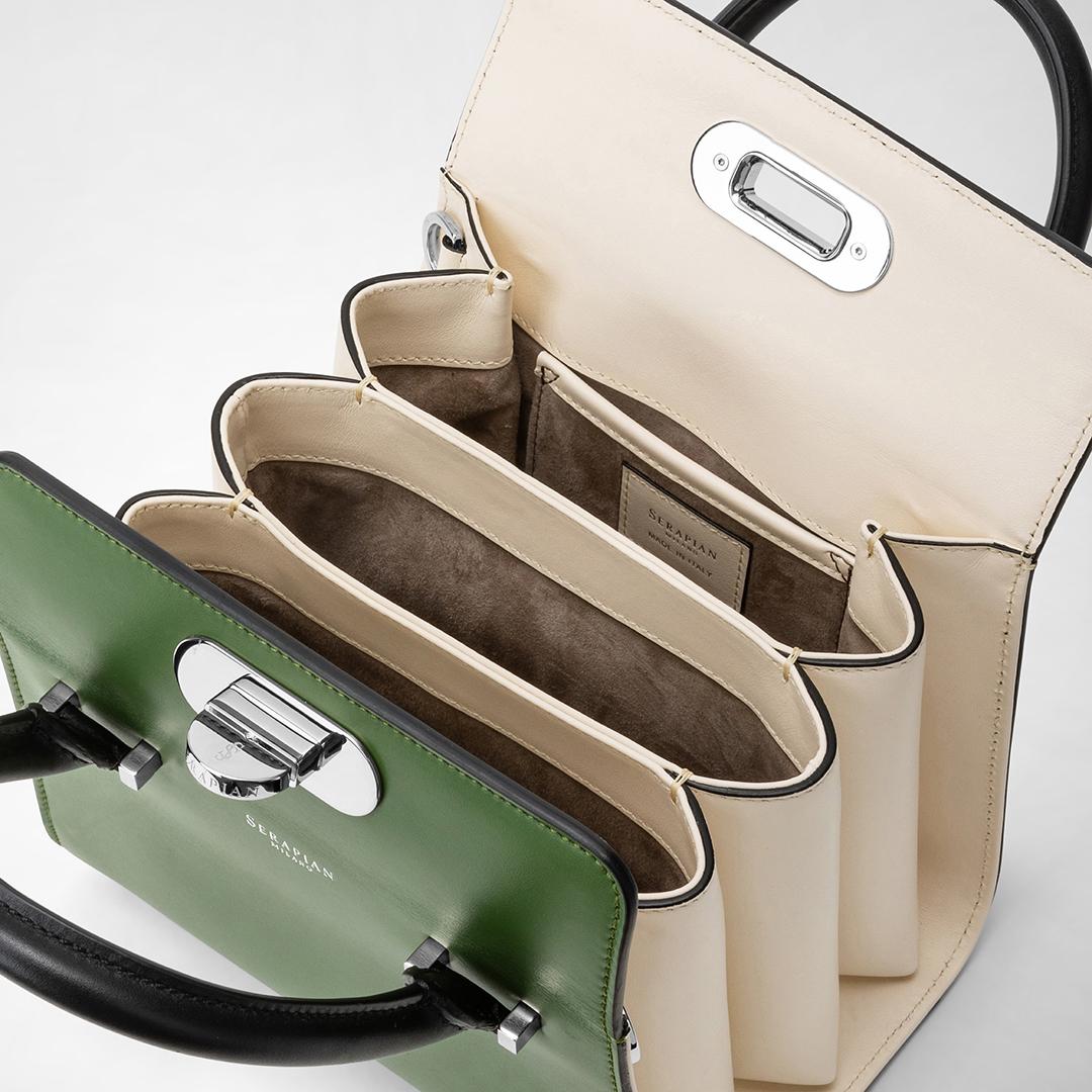 Foto dettaglio di una borsa di lusso